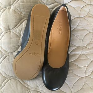 J. Crew Shoes - J. Crew Anya Leather Ballet Flats